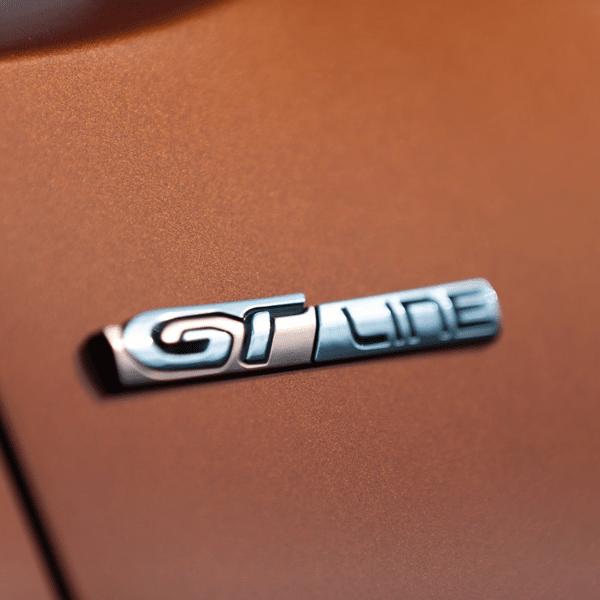 """Надпис """"GT LINE"""",  Ляв - Peugeot Rifter"""