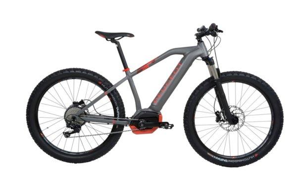 eM02 27.5+ Powertube Deore 10 черно и червено - Gris Anthracite - Rouge