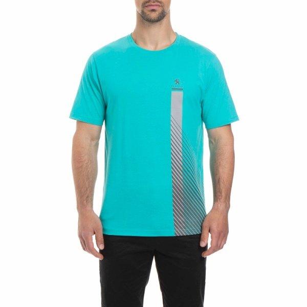 Тениска с Къс Ръкав MC, Peugeot 208, Мъжка, Аква и антрацит