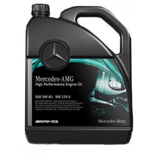 MERCEDES ENGINE OIL 0W40 MB 229.5 AMG 5L