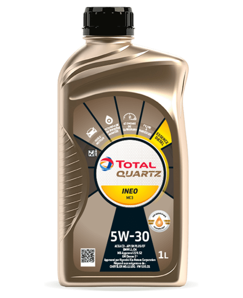 Total Quartz Ineo Mc3 5W30 1L