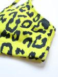 Жълт бански Теа в леопардов принт