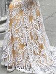 Дълга пайетена рокля Даная в цвят бордо-Copy