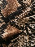 Дамско бельо от две части Темира в змийски принт - сутиен и прашка