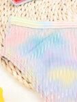 Бански Алма от две части в нежни преливащи цветове