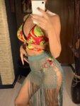 Прозрачна плажна рокля Атина с бляскави нишки в златист цвят-Copy