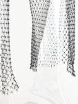 Бял фишнет панталон с камъни Рея-Copy