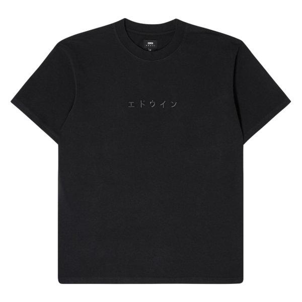EDWIN * тениска Katakana Embroidery
