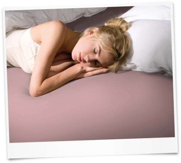Bella Donna чаршаф с ластик Jersey (565 розово)