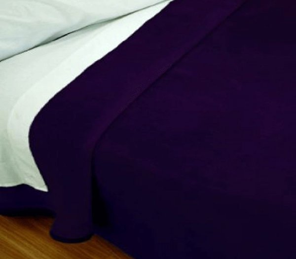 Pielsa Одеяло (c55 Тъмно лилав)