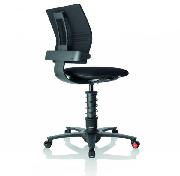 Ергономичен стол 3Dee Black Black Base