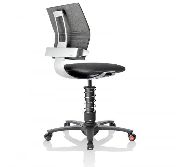 Ергономичен стол 3Dee Grey Melange Silver Base