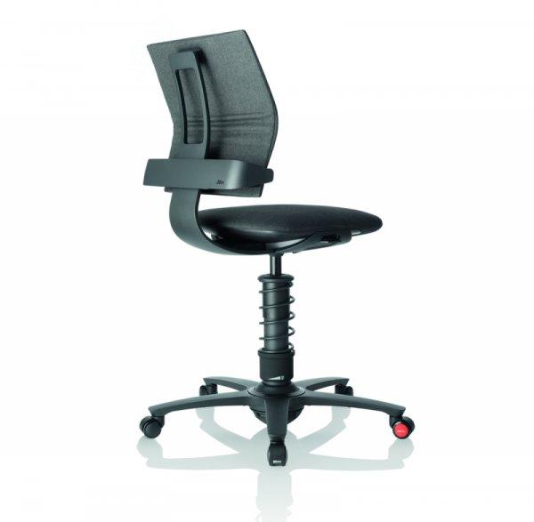Ергономичен стол 3Dee grey melange/черна основа