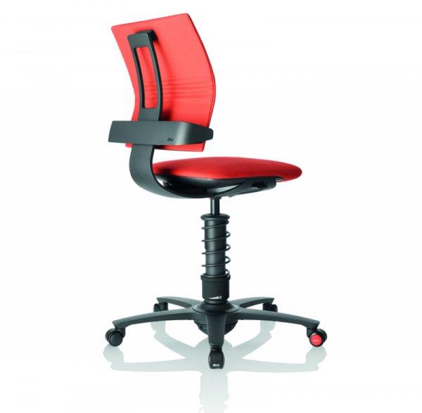 Ергономичен стол 3Dee coral/черна основа