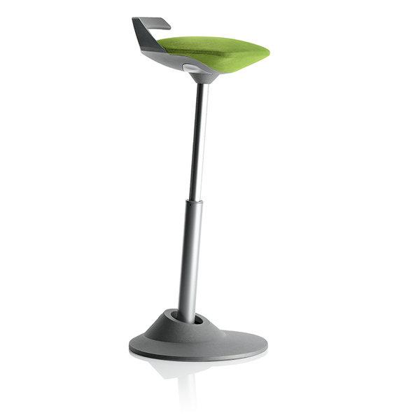 Ергономичен стол Muvman Green Silver Base