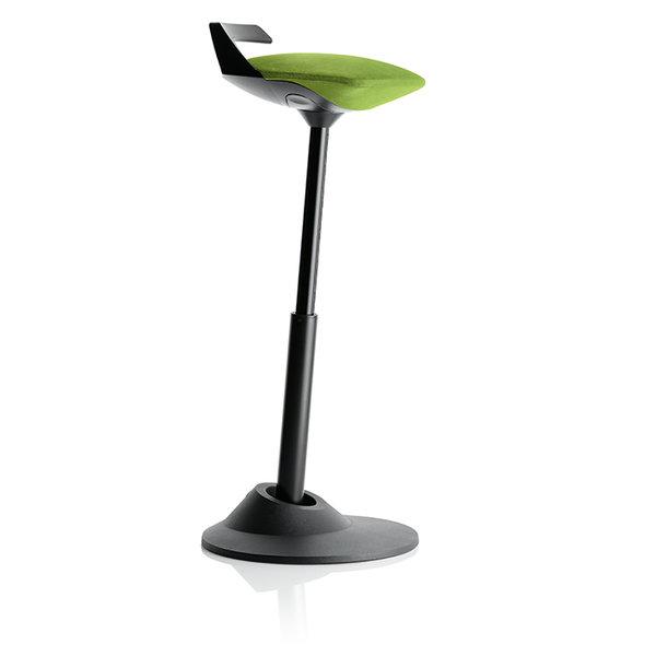 eргономичен стол Muvman Green Black Base