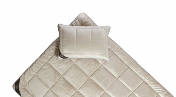 White Boutique Комплект завивка и възглавница Sleep Basics