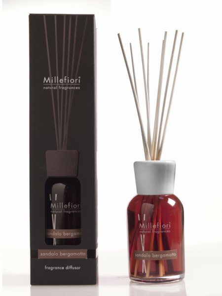 Millefiori ароматизатор дифузер за помещение Natural (Sandalo Bergamotto)