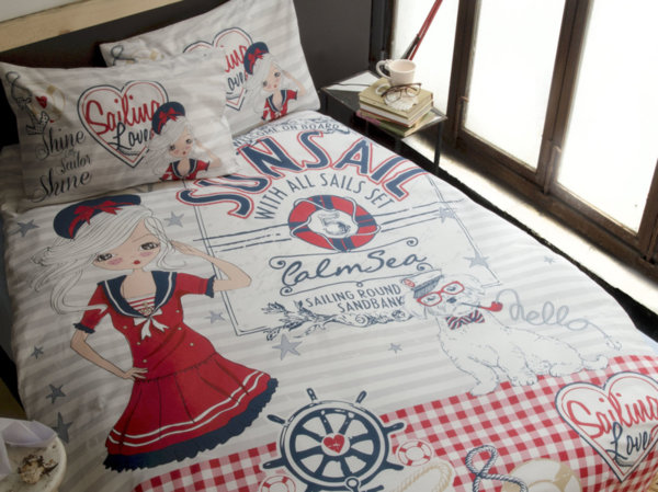Issimo Home спален комплект Navy Girl