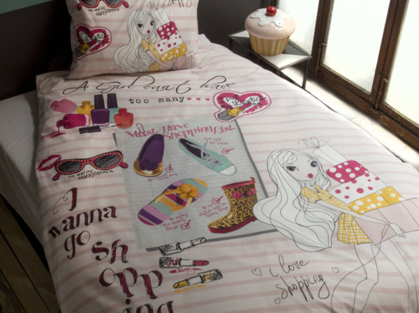 Issimo Home спален комплект Shopping Girl