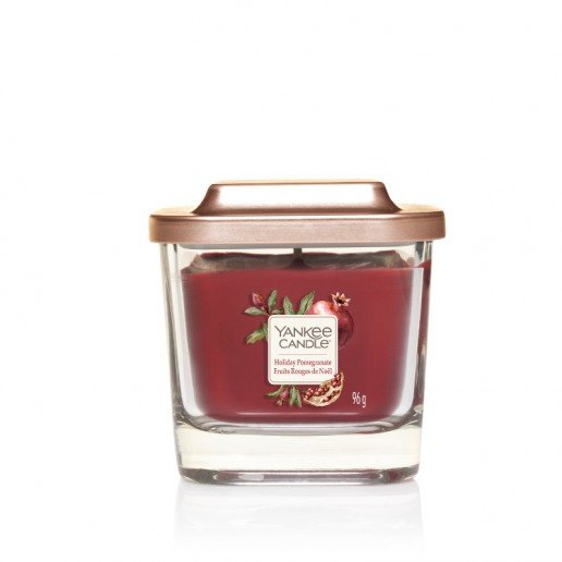 Yankee Candle ароматна свещ ELEVATION HOLIDAY POMEGRANATE small