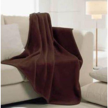 Manterol Одеяло Polo Color C36 тъмно кафяв