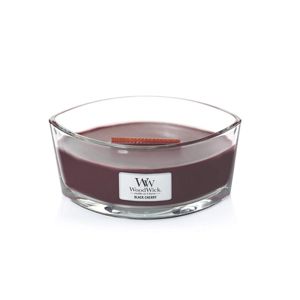 WoodWick ароматна свещ Ellipse Candle Black Cherry