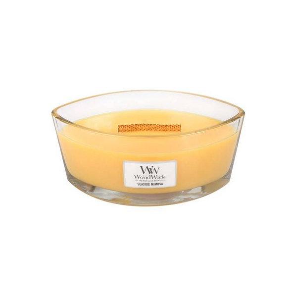 WoodWick ароматна свещ Ellipse Candle Seaside Mimosa