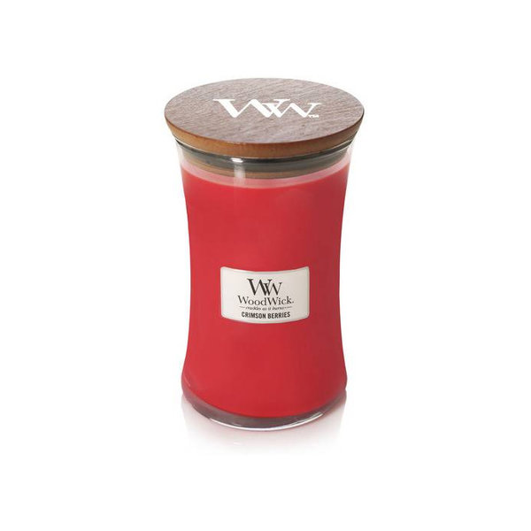 WoodWick ароматна свещ Crimson Berries