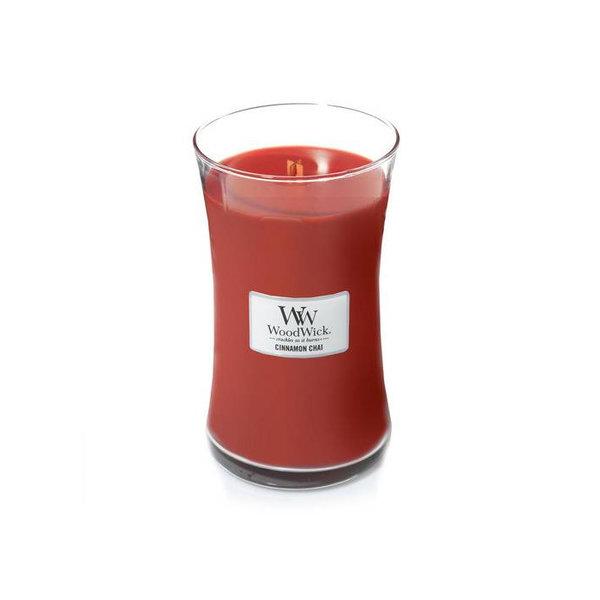 WoodWick ароматна свещ Cinnamon Chai