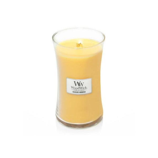 WoodWick ароматна свещ Sea Side Mimosa