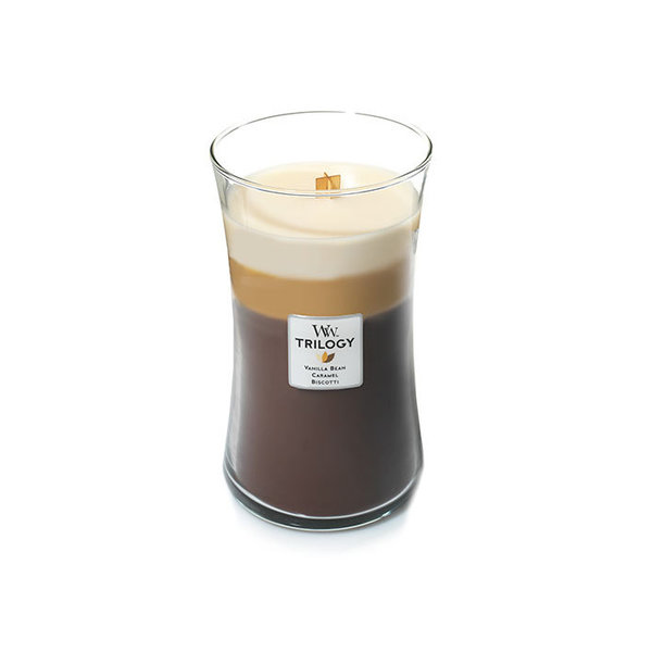 WoodWick ароматна свещ Trilogia Cafe Sweets