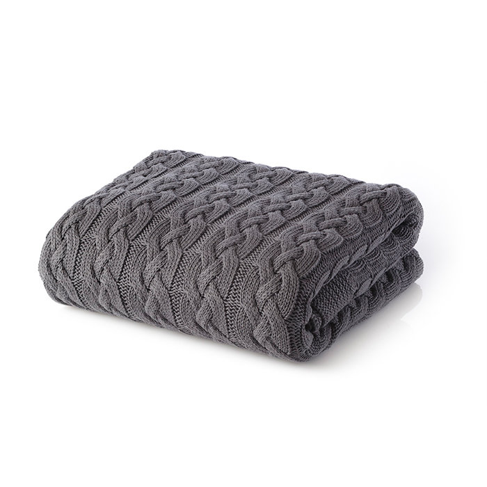 одеяло White Boutique Tirol Cotton Grey