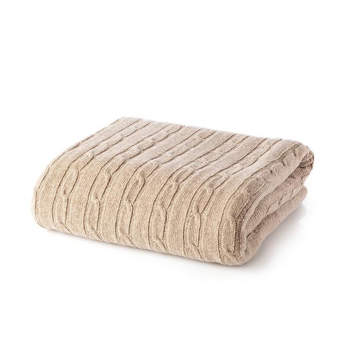 одеяло White Boutique Tirol Wool Beige