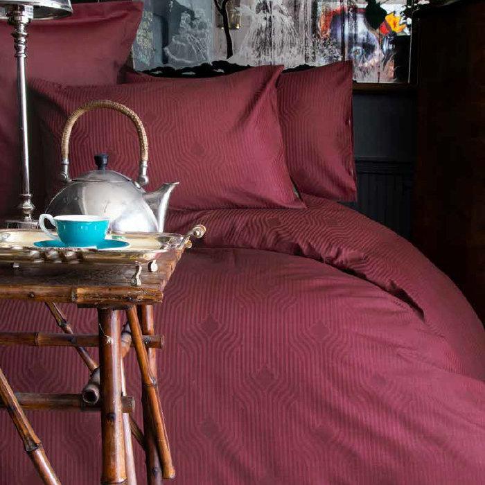 спален комплект Issimo Home Botilo bordo | Матраци Happy Dreams