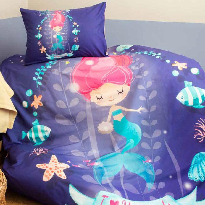 детски спален комплект Issimo Home Mermaids | Матраци Happy Dreams