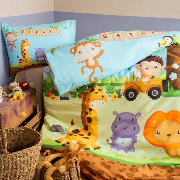 детски спален комплект Issimo Home Safari