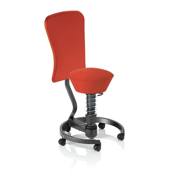 Ергономичен стол Swopper WORK ferraro red