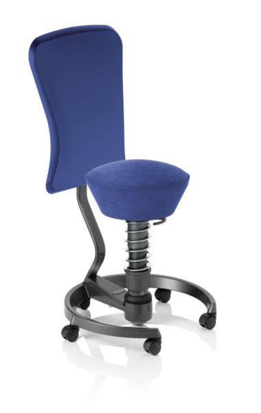 Ергономичен стол Swopper WORK royal blue