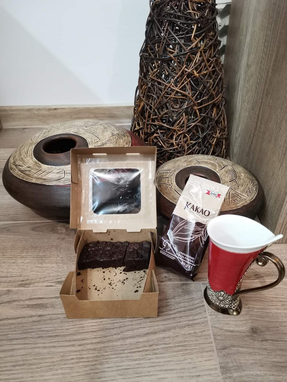 ЗДРАВОСЛОВНО БРАУНИ с какао Jordani