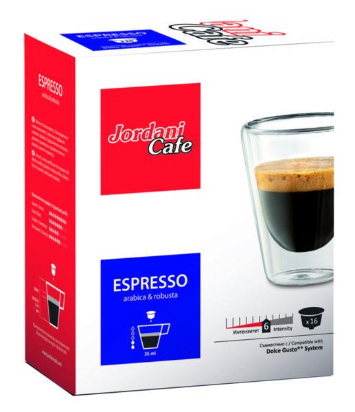 Кафе капсули JORDANI Espresso