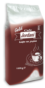 Jordani Gold 1kg кафе на зърна