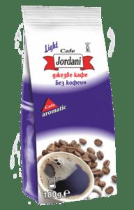 Jordani Light фино мляно кафе без кофеин за джезве 100g