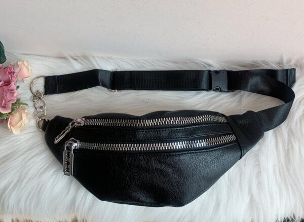 Кожена чанта за кръста Модел-112