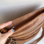 Дамска кожена черна чанта Модел-АВ46-Copy