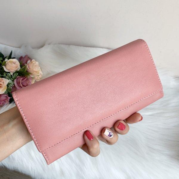 Естетсвена кожа портмоне розово Модел-502