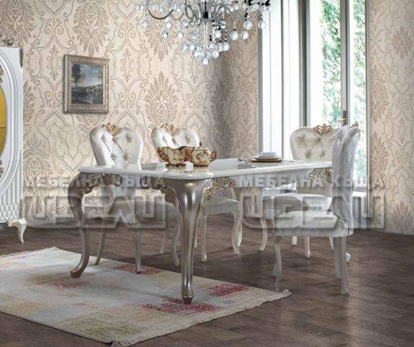 Флория - маса + 6 стола