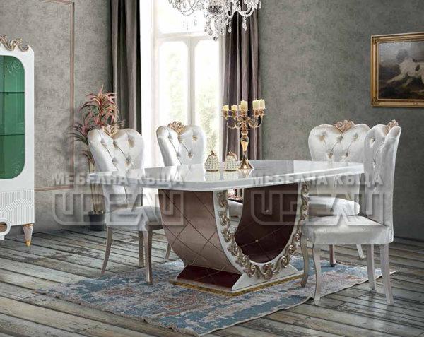 Нирвана - маса + 6 стола