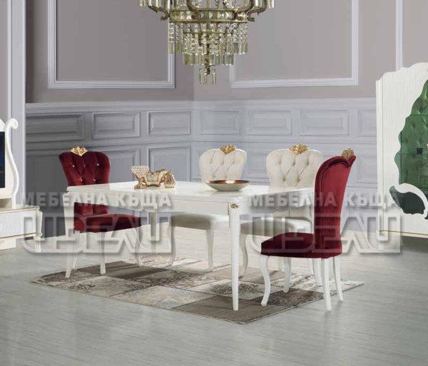 Рома - маса + 6 стола