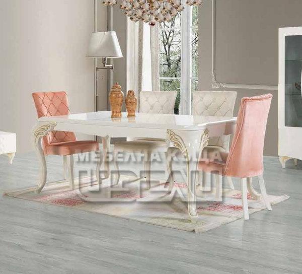 Оскар - маса + 6 стола
